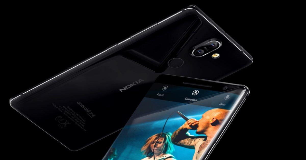 Nokia 8 Sirocco im Hands-On-Video: Das schönste Android-Smartphone?