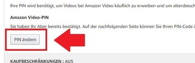 So richtet ihr die Amazon-Video-PIN ein und ändert sie