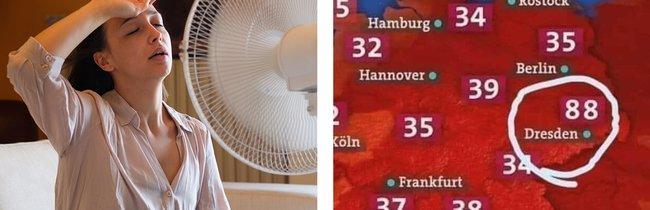22 Posts, die zeigen, wie heiß es in Europa gerade wirklich ist