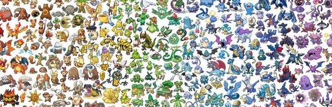 Alle Pokémon nach Typ geordnet