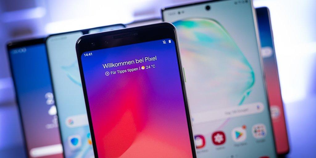 Top 10: Die aktuell beliebtesten Android-Smartphones in Deutschland
