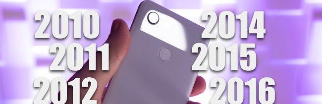Vom Nexus One zum Pixel 3 (XL): Googles Smartphones in der Übersicht