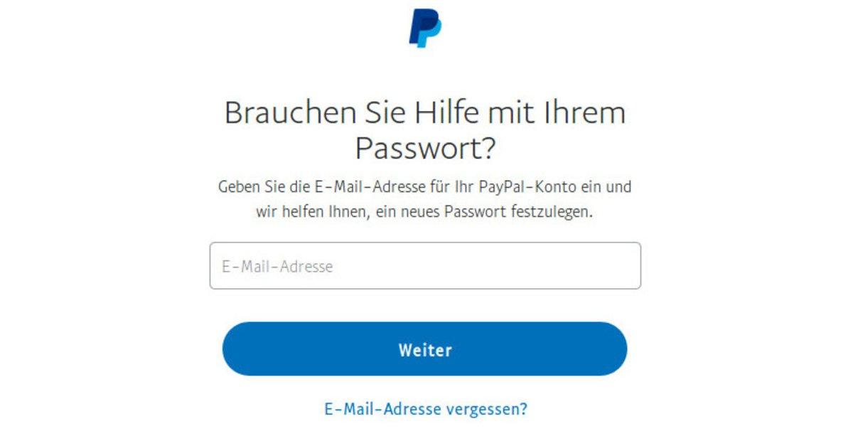 Paypal Sicherheitsprüfung