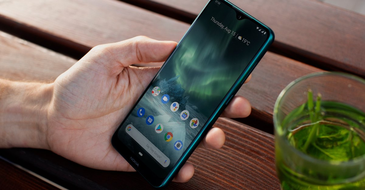 Image result for nokia 6.2 in hand