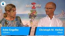 """Interview zu """"Angry Birds 2"""": Wir spielen Tabu mit Anke Engelke und Co."""