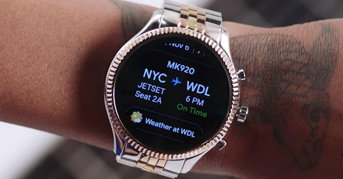 Amazon verkauft schöne Android-Smartwatches von Michael Kors zu Schnäppchenpreisen