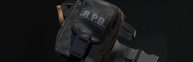 Resident Evil 2: Inventar vergrößern - Gürteltaschen-Fundorte