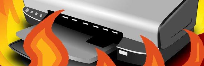 22 Gründe, warum der Drucker ein Instrument des Teufels ist