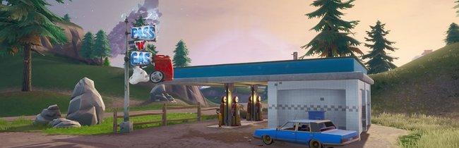 Fortnite: Tankstellen zum Besprühen - 7 Fundorte auf der Karte (Season 10)