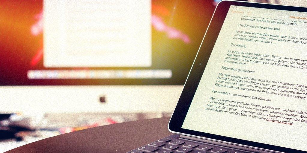 macOS Catalina: Diese 10 iPad-Apps gibt's jetzt auch auf Apples Mac