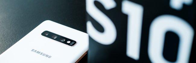 Samsung Galaxy S10 Plus in Bildern: So schön schaut's aus