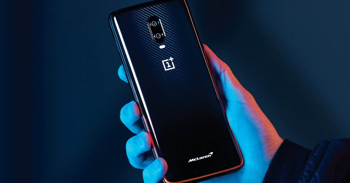 Oneplus 6t Mclaren Edition Introduced Android Smartphone In Speed