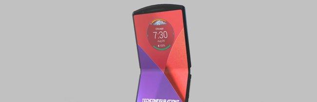 Faltbares Motorola RAZR: So schön könnte die Rückkehr des Kult-Handys aussehen