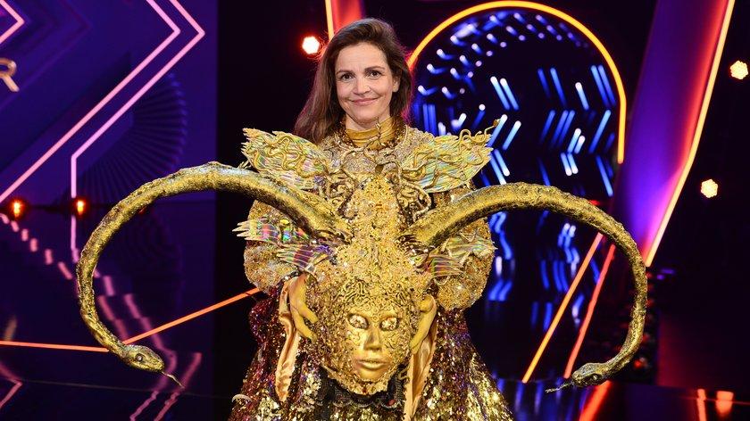 """The Masked Singer"" Göttin enthüllt: Es ist Rebecca Immanuel"