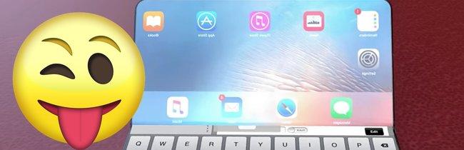 iPhone X Flex: Nimm das, Samsung! So könnte ein faltbares Apple-Smartphone aussehen
