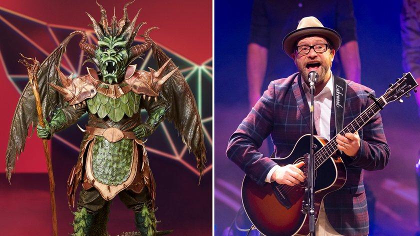 """""""The Masked Singer"""" Drache enthüllt: Gregor Meyle erzielt Platz 3"""