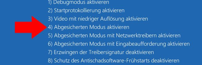 Windows 10: So startet ihr den abgesicherten Modus