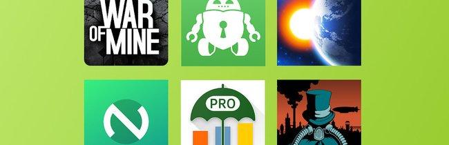 Über 28 Euro gespart: Kostenlose und reduzierte Android-Apps zum Wochenende
