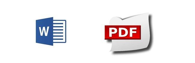 Word zu PDF konvertieren – online