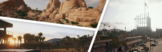 "PlayerUnknown's Battlegrounds: Map ""Miramar"" in Bildern"