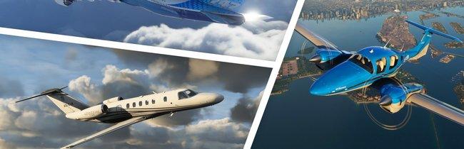 Microsoft Flight Simulator (2020): Alle 30 Flugzeuge - Liste und Bilder