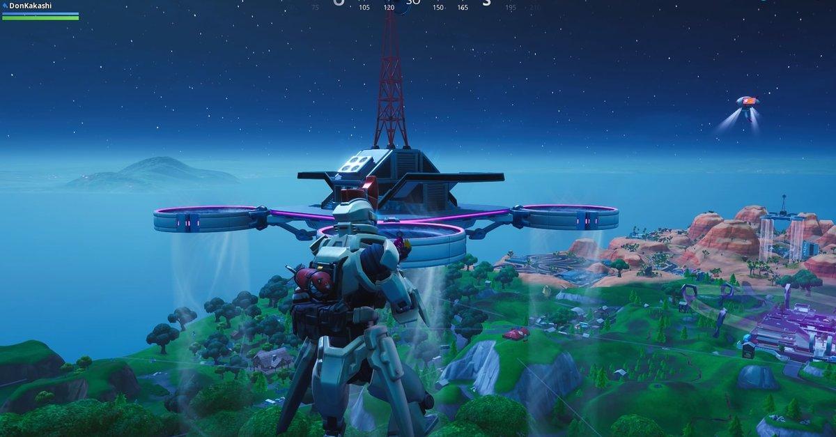 All 7 sky platforms fortnite
