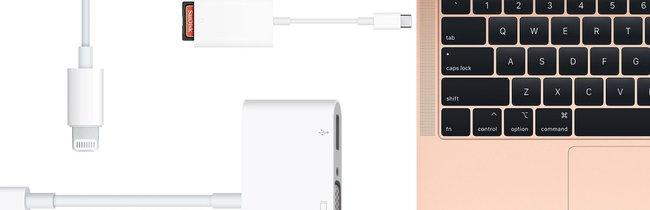 Für iPhone, iPad und Mac: Alle Adapter für Apples Idee von der Zukunft