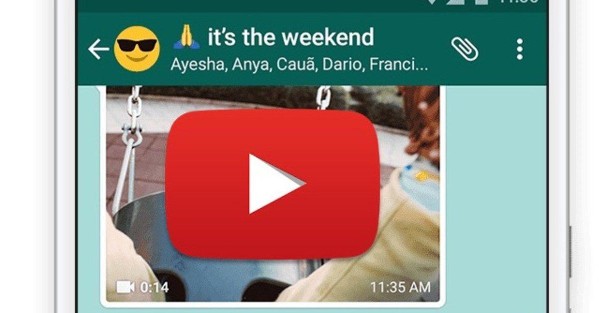 Youtube Video Per Whatsapp Versenden