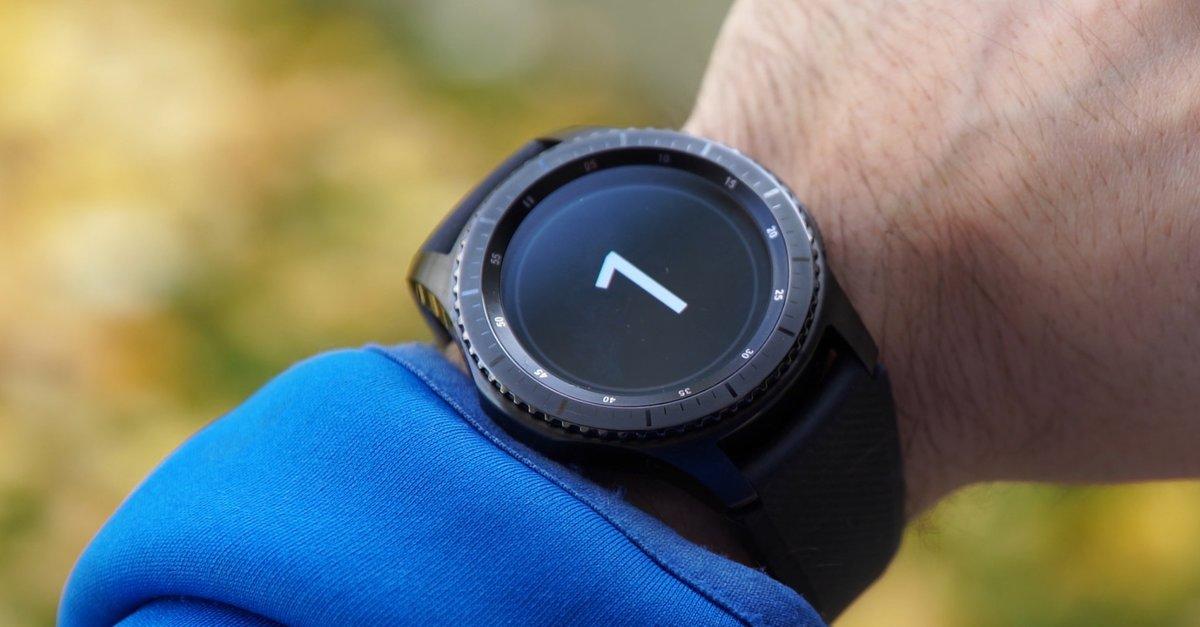 Samsung Gear S3 im Preisverfall: Smartwatch aktuell günstig bei Amazon erhältlich