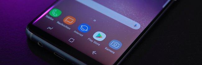 Samsung Galaxy S8: Smartphone-Ästhetik in Bildern