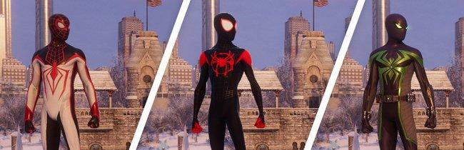 Spider-Man - Miles Morales: Alle 19 Anzüge - Bilder und Freischaltbedingungen