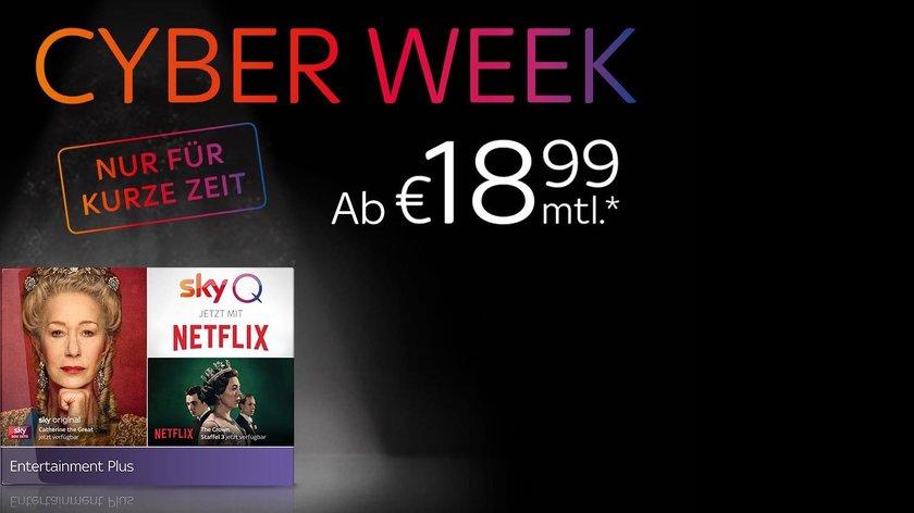 Sky Entertainment Plus mit Netflix für nur 18,99 Euro – nur noch bis Januar