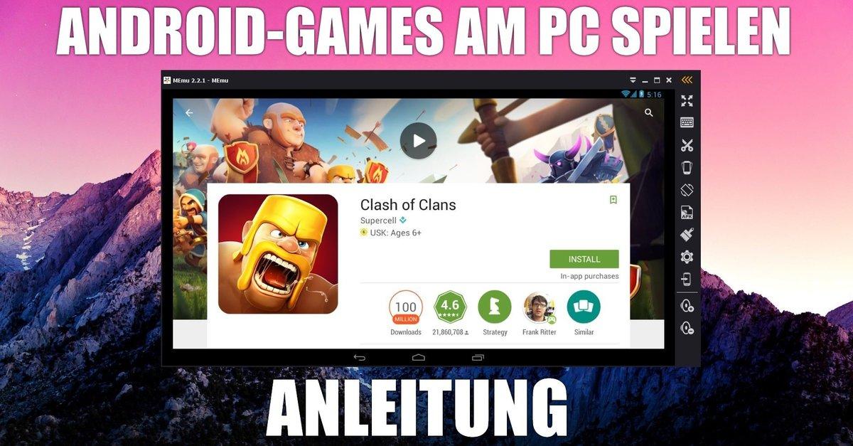 android spiele auf dem pc spielen