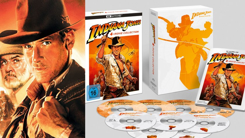 """""""Indiana Jones""""-Gewinnspiel: Wir verlosen 3x die 4K-Collection zum Heimkino-Start"""