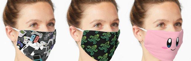 Skyrim, Zelda und Mario: 33 Nerd-Masken, um die euch alle beneiden werden