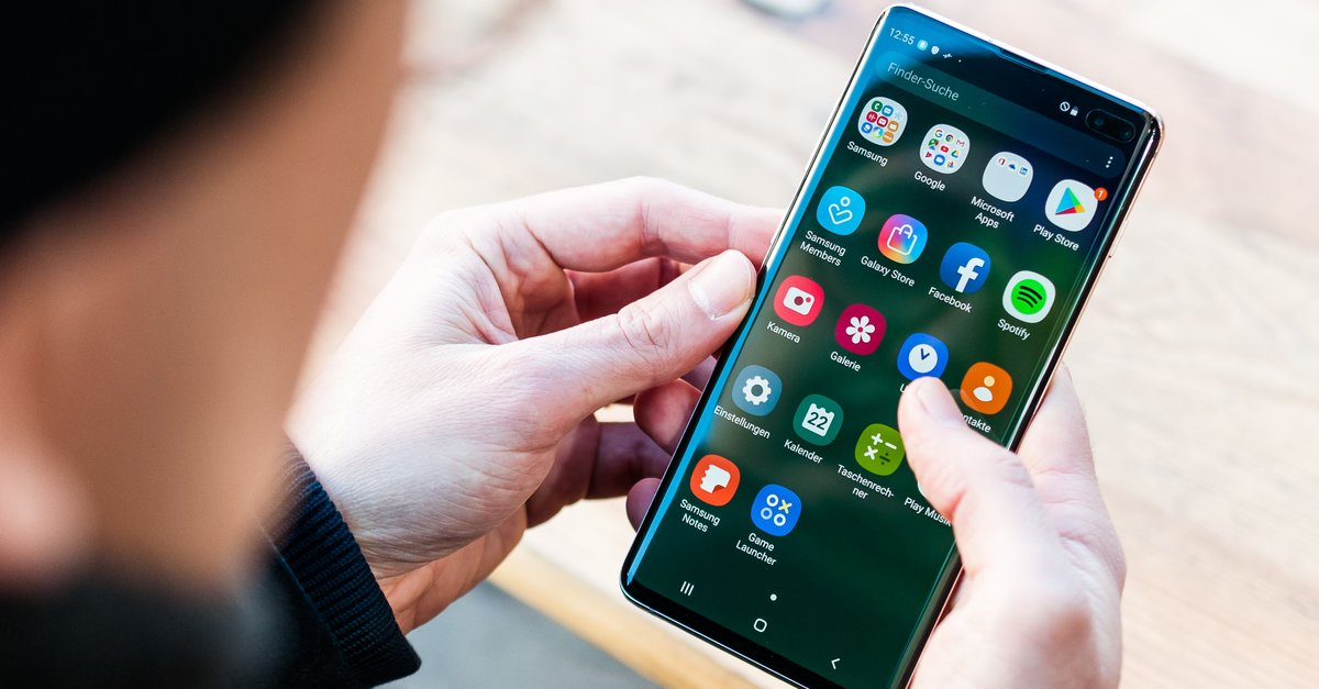 Samsung presents fehler free software update for the Galaxy S10