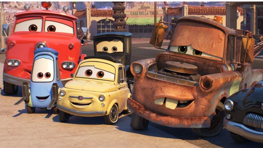 """""""Cars"""": Alle Autos mit Namen und Bildern im Überblick"""