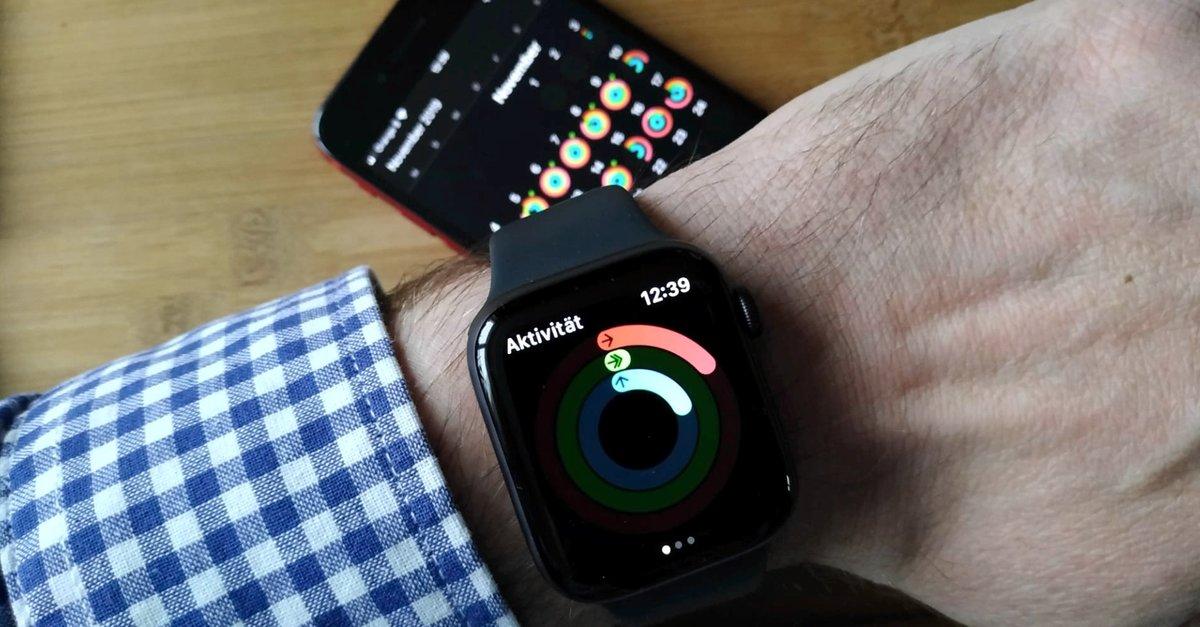Geld verdienen mit der Apple Watch: Wer schwitzt, wird belohnt