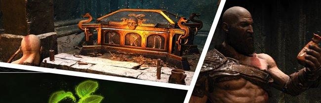 God of War: Nornentruhen - alle Fundorte und Lösungen