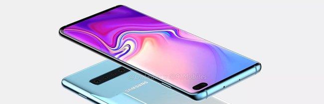 Samsung Galaxy S10: So umwerfend könnte das nächste Flaggschiff-Smartphone aussehen