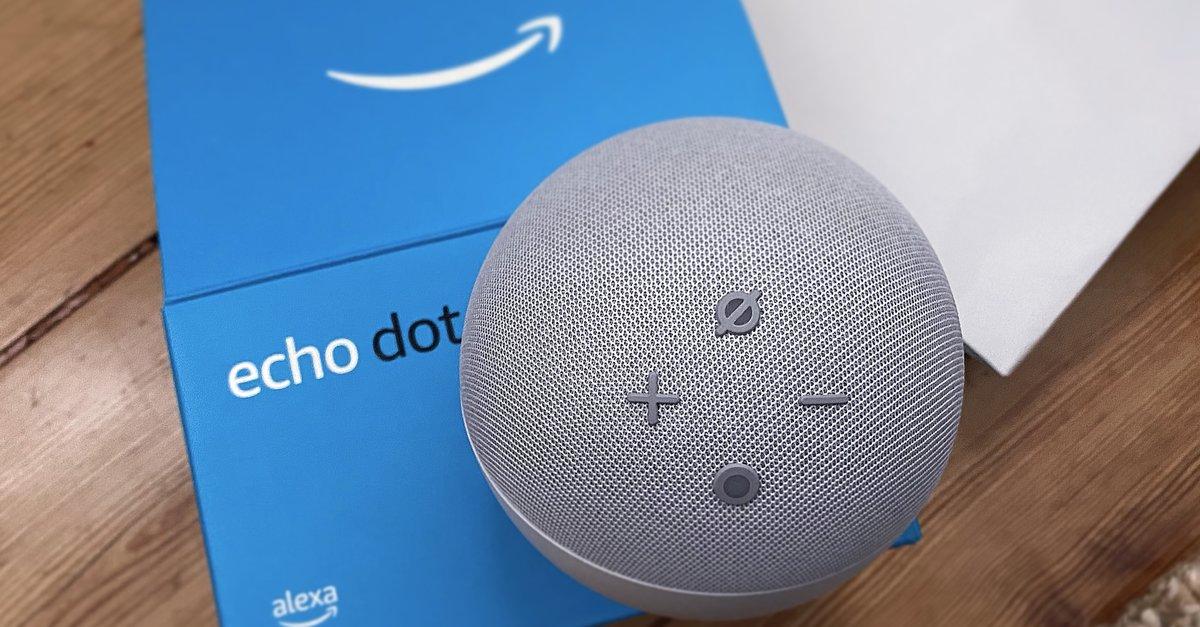 Echo Dot 4: Amazon haut beliebten Alexa-Lautsprecher zum Bestpreis raus