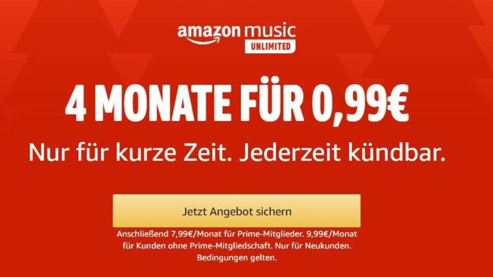 Amazon Music: Ab sofort auch werbefinanziert zu hören