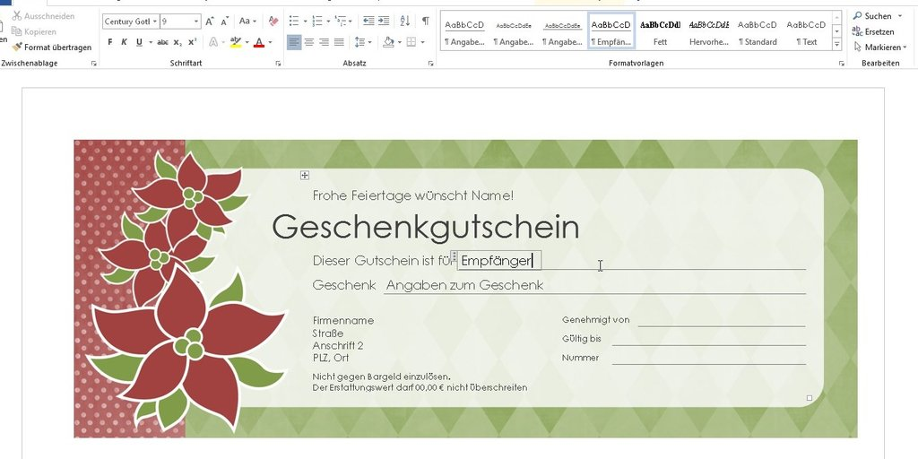 Word Vorlage Weihnachten Briefpapier Briefpapier 1