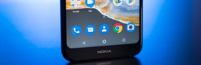 Nokia 7.1 in Bildern: Wenn der Gruppenzwang das Design bestimmt