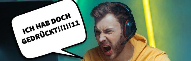 """""""Das Spiel hat gelaggt!"""" – 13 Ausreden, die jeder Gamer schon mal gehört hat"""