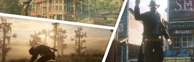 So eindrucksvoll sehen die Orte und Städte in Red Dead Redemption 2 aus