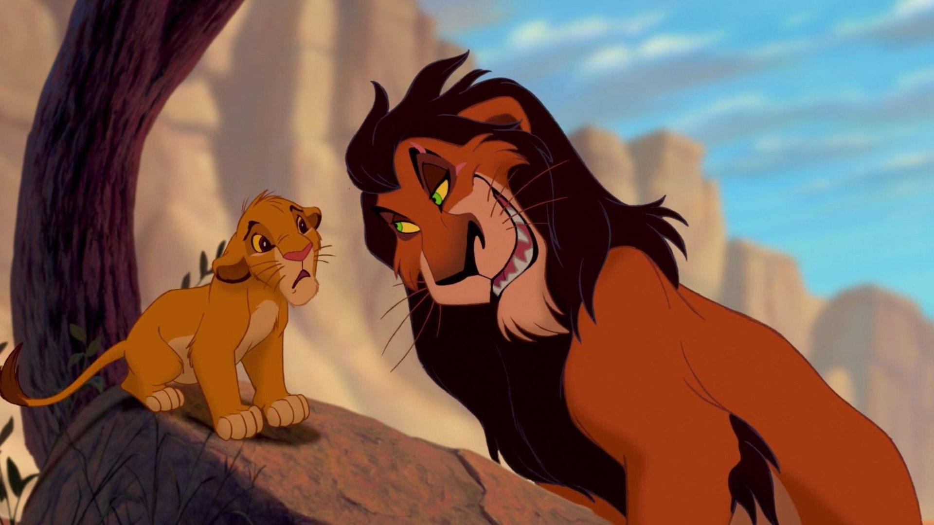 König Der Löwen Disney Scar