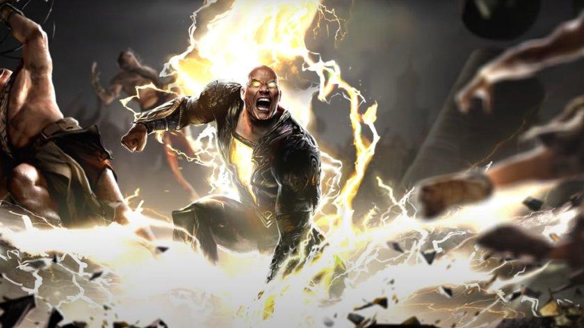 """Spektakuläre Aktion: Für """"Black Adam"""" fährt Dwayne Johnson die großen Geschütze auf"""