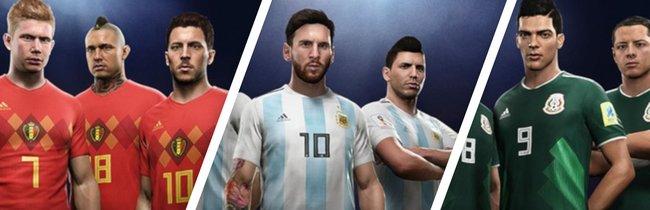 FIFA 18: WM-Ratings aller Spieler und Mannschaften