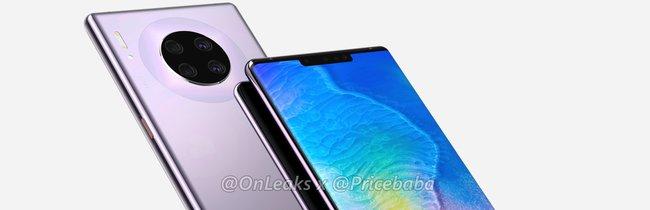 Huawei Mate 30 Pro: So schön soll das nächste Top-Smartphone aussehen